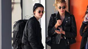 Kristen Stewart und Stella Maxwell beim Verlassen eines Spas in Los Angeles