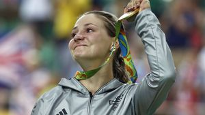 """Gelähmte Kristina Vogel zur """"Besten des Jahres"""" gewählt!"""