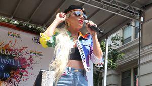 Gewusst? Diese Stars feierten schon bei Pride-Paraden mit!