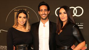 "Lamiya, Sami und Dounia Slimani auf dem ""Place To B Influencer Award"" in Berlin"