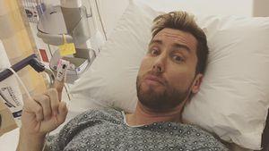 Lance Bass im Krankenhaus
