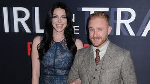 "Laura Prepon und Ben Foster bei der Premiere von ""The Girl on the Train"""