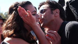 "Oha: ""Scream Queen"" Lea Michele knutscht mit John Stamos!"