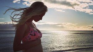 Leah Jenner im Baby-Glück: Ihr Bauch wird immer runder
