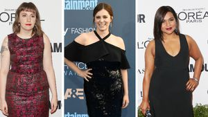 Lena Dunham, Rachel Bloom und Mindy Kaling