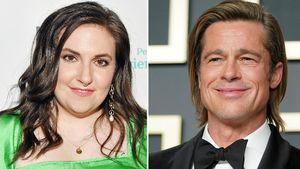 Lena Dunham: So reagierte Brad Pitt auf ihre Knutsch-Attacke