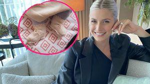 """""""So süß!"""": Lena Gercke zeigt die Füßchen ihrer Tochter Zoe"""
