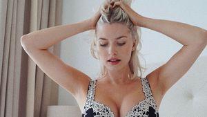 Nach der Entbindung: Neu-Mama Lena Gercke posiert sexy im BH