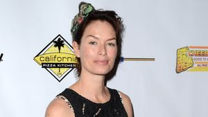 Lena Headey bei der Milk & Bookies Story Time Celebration in Los Angeles