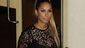 Leona Lewis im unvorteilhaften Tonnen-Rock