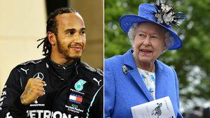 Lewis Hamilton wurde von der Queen zum Ritter geschlagen