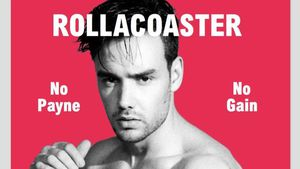 """Liam Payne auf dem Cover der Zeitschrift """"Rollacoaster"""""""