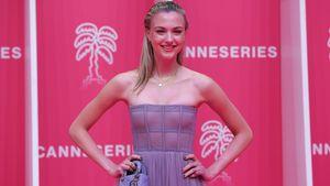 Veronica Ferres' Tochter Lilly Krug strahlt auf Red Carpet
