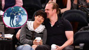 Lily Allen und David Harbour stehen im Netz zu ihrer Liebe