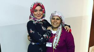 Lindsay Lohan im Auffanglager in Gaziantep