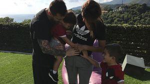 Kurz nach Traumhochzeit: Lionel Messi bald Dreifach-Papa!