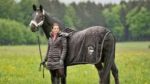 Tierisches Shooting: Lisa Müller modelt wieder