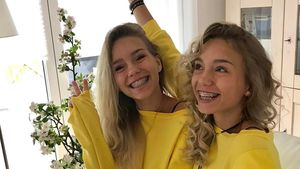 Lisa und Lena im April 2017
