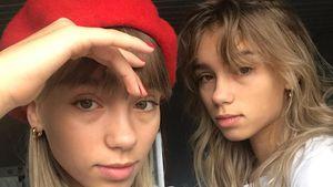 Völlig verschlafen: Lisa & Lena posten morgendliches Selfie