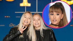 Lisa und Lena und Ariana Grande