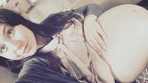 Lisa Wohlgemuth mit Babybauch