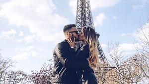 Liz Kaeber mit ihrem Nick in Paris