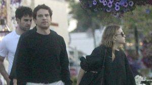 Selten: Ashley Olsens Freund Louis knipst sie bei Wanderung