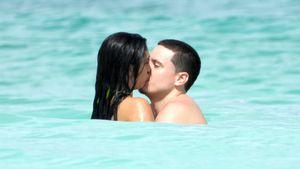 Am Strand: Madonnas Tochter Lourdes turtelt mit ihrem Freund