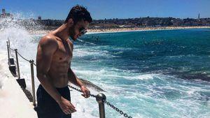 Australian-Girls aufgepasst! Luca Hänni ist jetzt Surfer-Boy