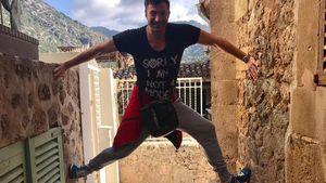Sportlich, sportlich! Lucas Cordalis zeigt Ninja-Qualitäten
