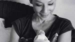 Lucy Liu: Sie dankt ihren Followern mit supersüßem Baby-Pic