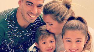 Zum dritten Mal: Fußballer Luis Suárez ist wieder Papa!