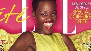 Lupita Nyong'o: Supermodel-Pose fürs ELLE Cover