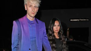 Cool? Machine Gun Kelly und Megan Fox im Karo-Partnerlook