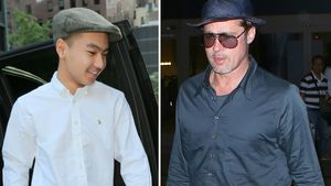 Maddox Jolie-Pitt und Brad Pitt