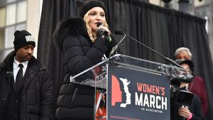 Madonna beim Women's March On Washington