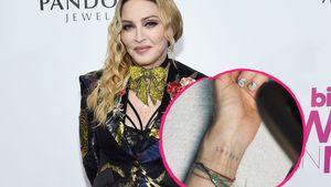 Für ihre Kids: Madonna hat sich erstmals tätowieren lassen