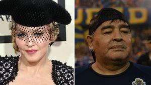 Unangenehm: Fans trauerten um Madonna – statt um Maradona