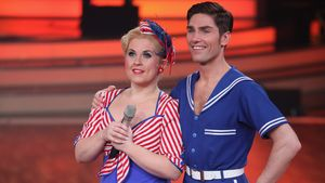 "Maite Kelly und Christian Polanc beim ""Let's Dance""-Finale 2011"