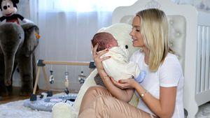 Nach Notkaiserschnitt: Mandy Lange genießt Zeit mit Sohn Leo
