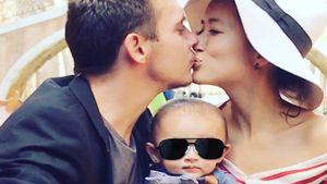 Nach Fehlgeburt: Jonathan Rhys Meyers' Frau postet Familypic