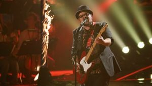 "TVoG-Finalist Marc Amacher im Finale von ""The Voice of Germany"""