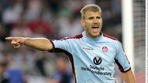 Marcelo Pletsch beim 1:0 Sieg des Vfb Stuttgart gegen den 1. FC Kaiserslautern