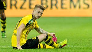 Marco Reus bei einem Spiel von Borussia Dortmund