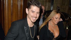 Bryan Tanaka und Mariah Carey in London