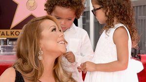 Süß: Mariah Careys Twins freuen sich über Hollywood-Stern