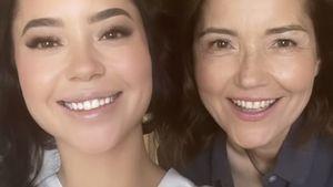Hochzeitsfoto: So ähnlich sieht Yottas Marisol ihrer Mutter