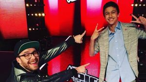 "Mark Forster und ""The Voice Kids""-Gewinner Lukas"