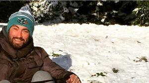 Winter-Spaß im Schnee: Marteria fährt Schlitten