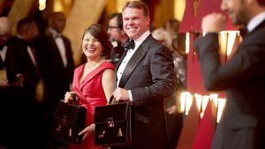 Martha Ruiz und Brian Cullinan bei den Oscars 2017